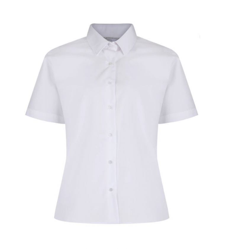 Trutex Easy Care Blouse - Short Sleeve - Twin Pack