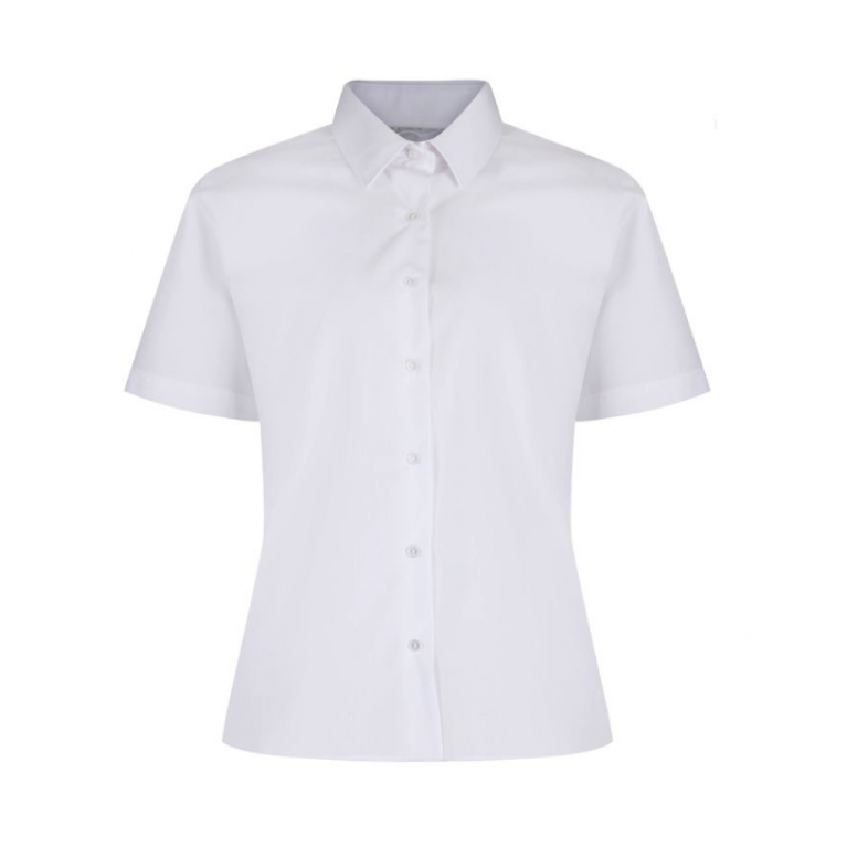 Easy Care Blouse - Short Sleeve - Twin Pack