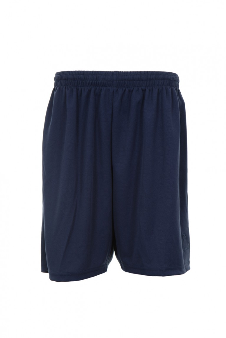 Navy Cotton PE Shorts