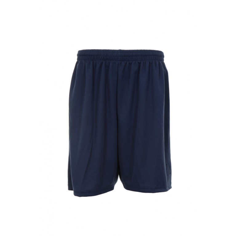 Navy Cotton PE Shorts