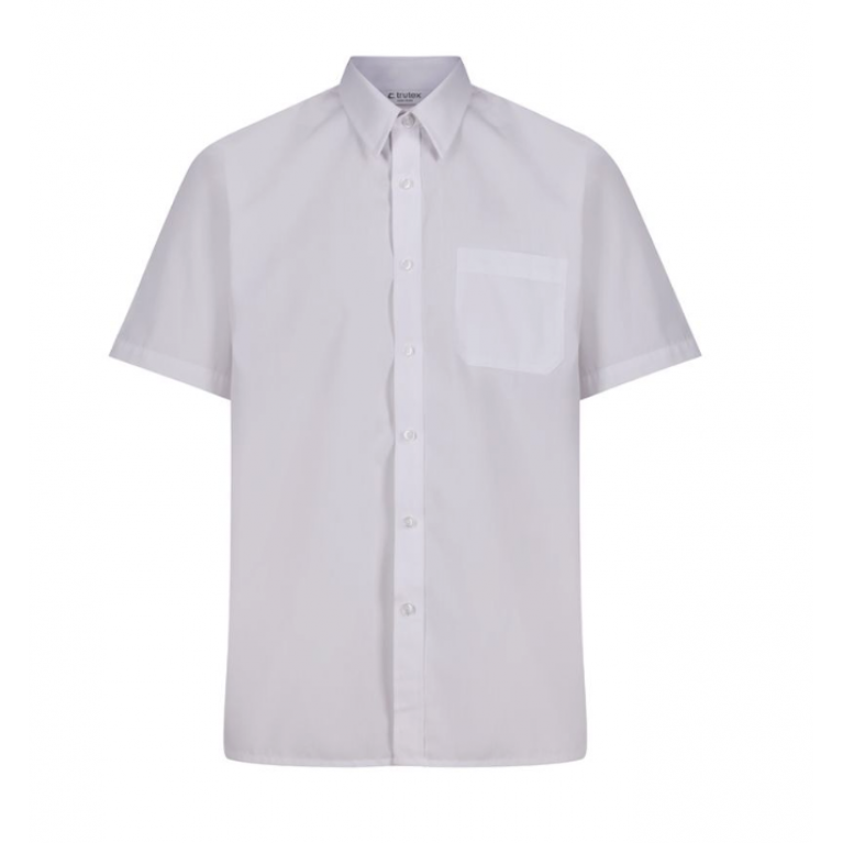 Trutex Easy Care Shirt -Short Sleeve - Twin Pack