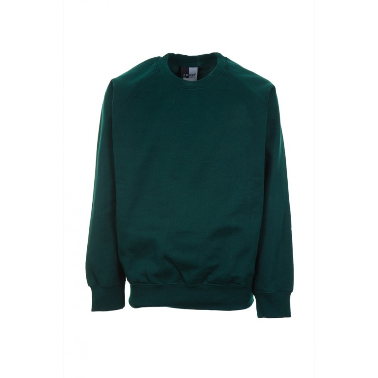 Plain Green Sweatshirt