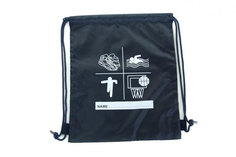 Navy P.E Bag