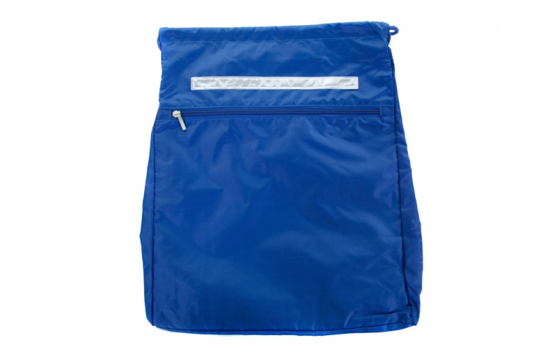 Plain Blue Kit Bag
