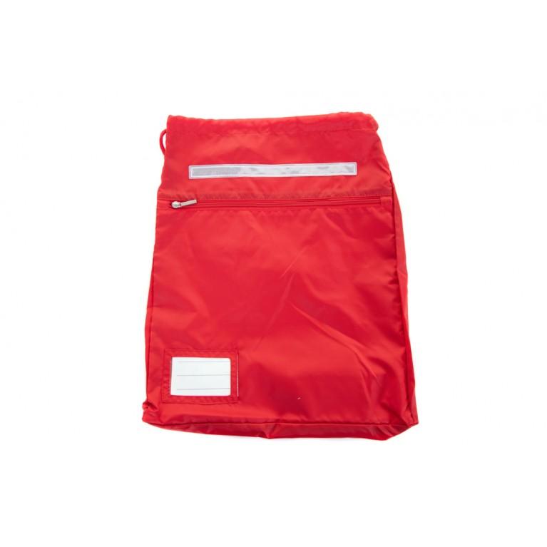 Plain Red Kit Bag