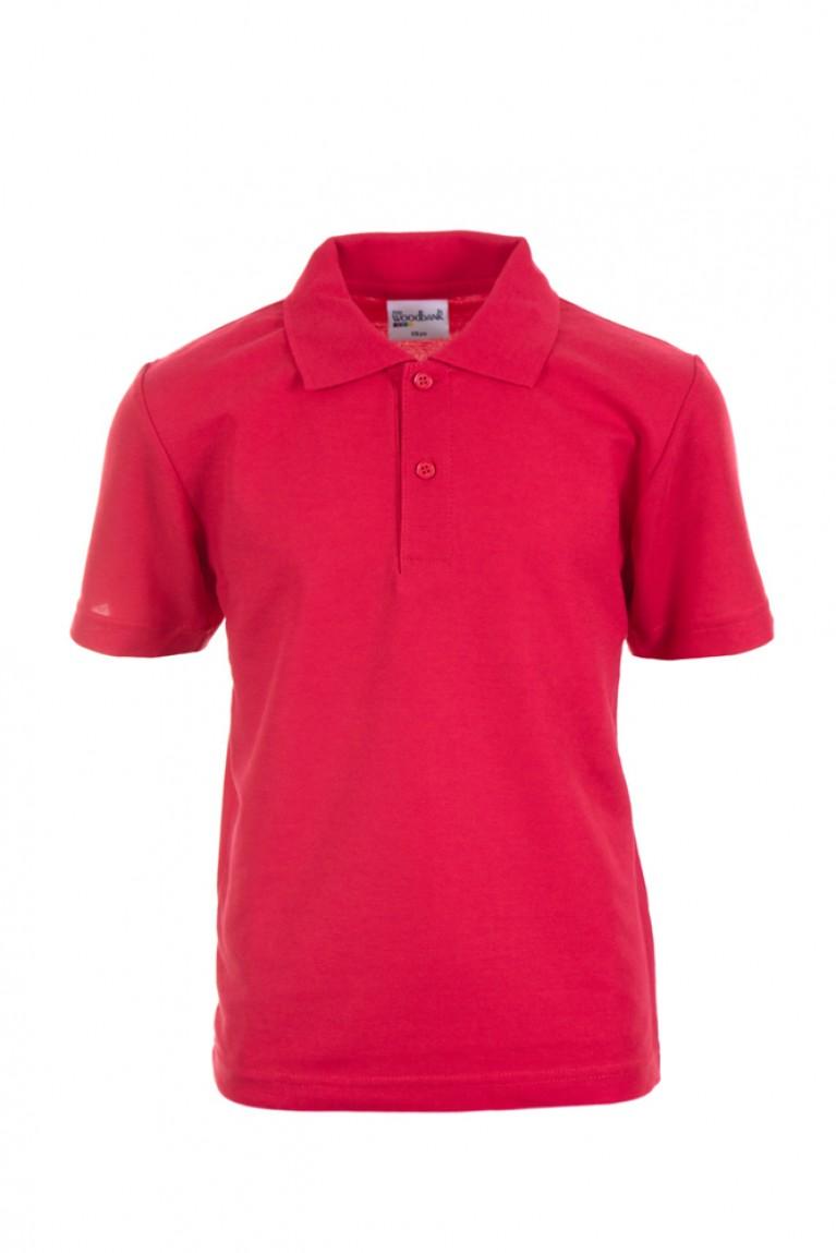 Plain Red Polo Shirt