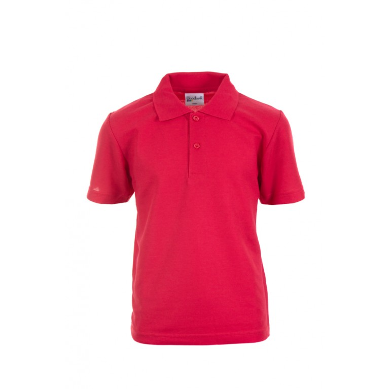 Plain Red Polo Shirt
