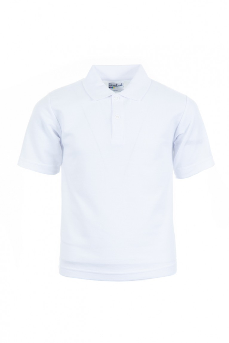 5x Plain White Polo Shirt Bundle
