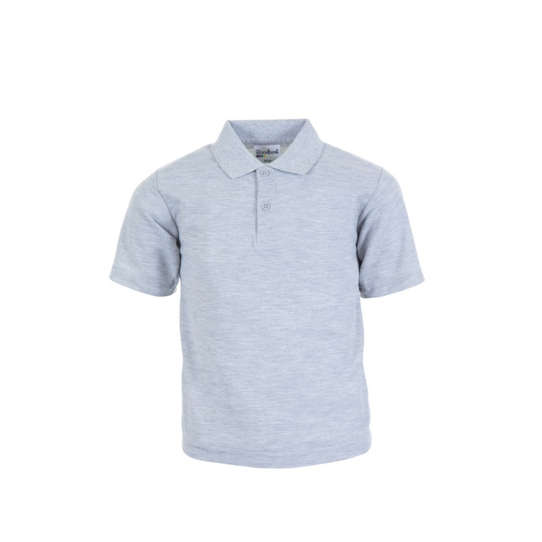 Plain Grey Polo Shirt