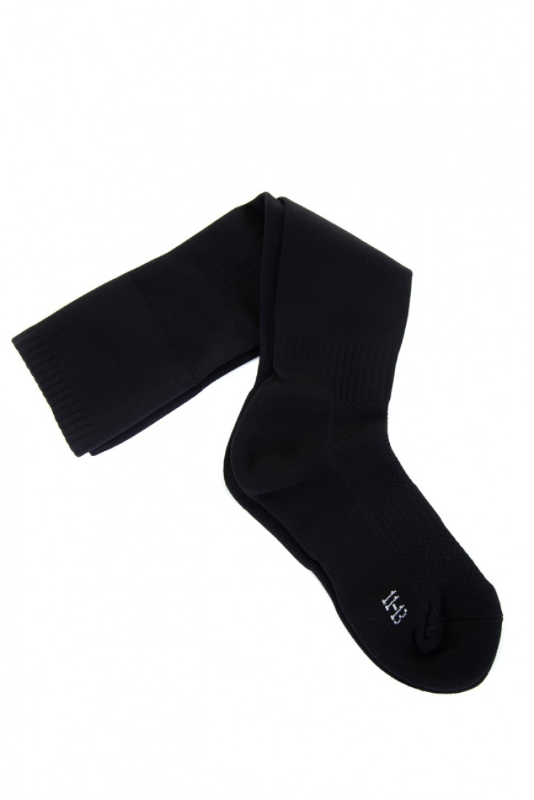 Black Football Socks