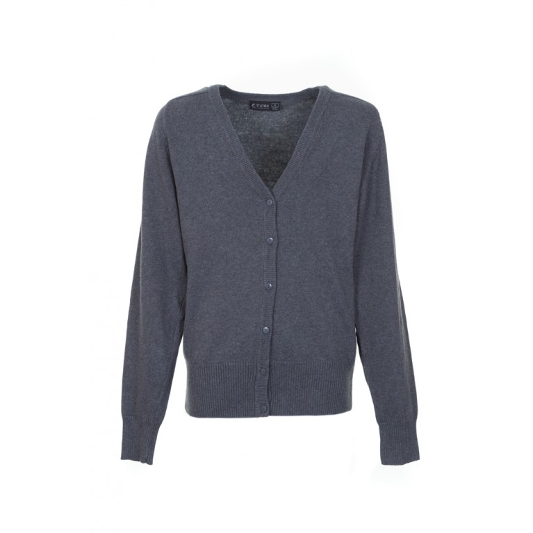 Marl Grey Trutex Cardigan