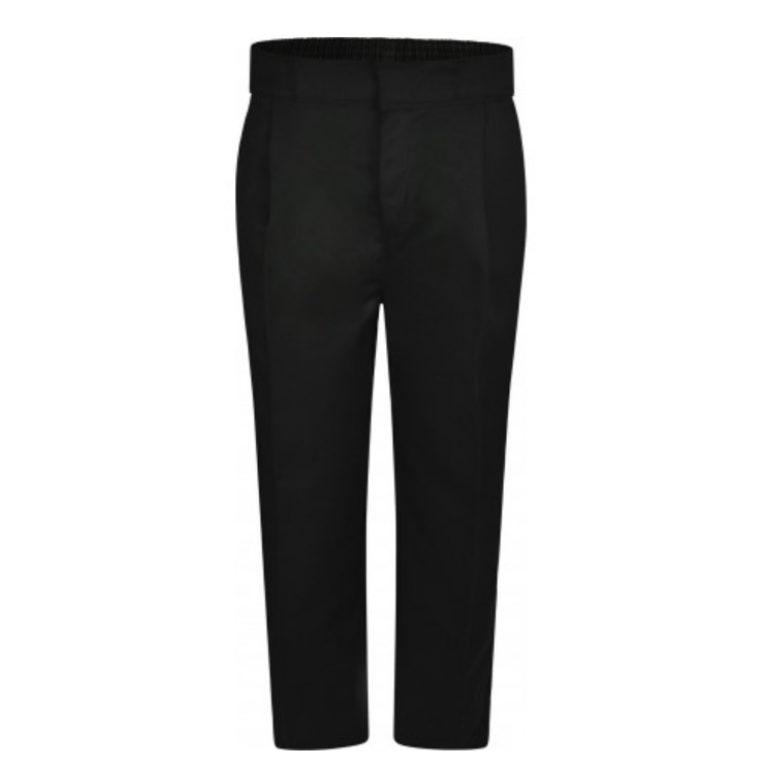 Innovation Boys Black Trousers - Sturdy Fit