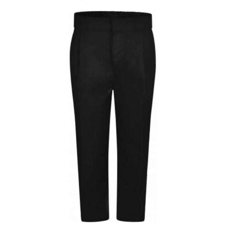 Innovation Boys Black Trousers - Sturdy Fit
