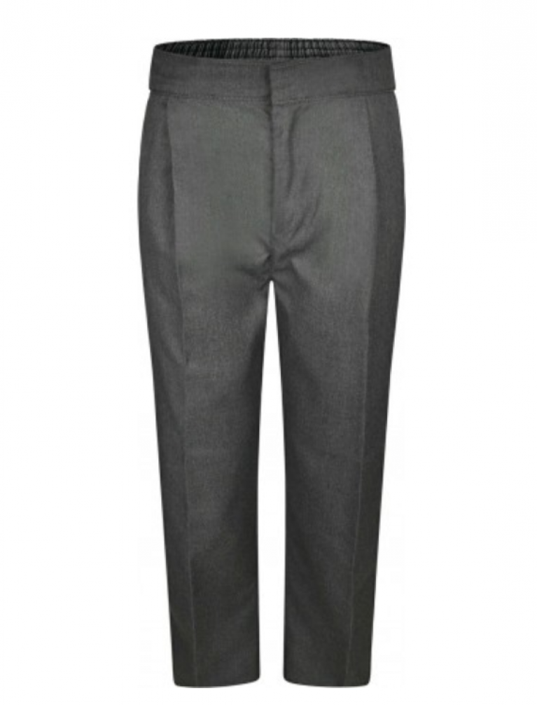 Innovation Boys Grey Trousers - Sturdy Fit