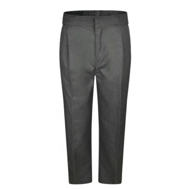 Innovation Boys Grey Trousers - Sturdy Fit