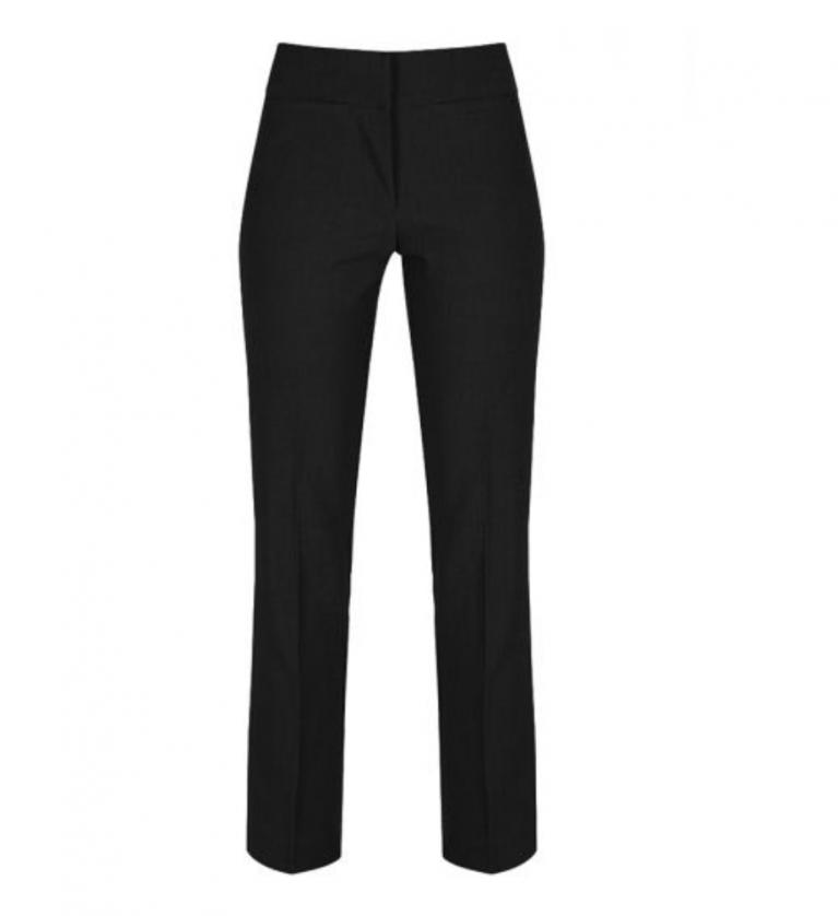 Trutex Senior Girls Twin Pocket Trousers in Black