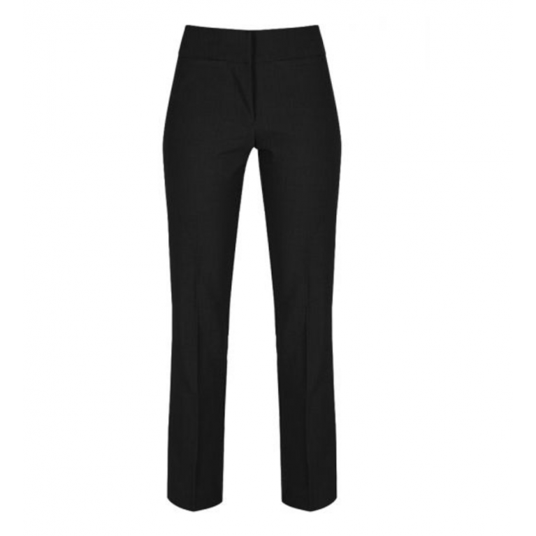 Trutex Senior Girls Twin Pocket Trousers in Black