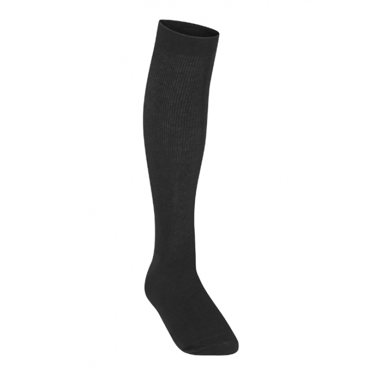 Girls Pack of 3 Black Knee High Socks