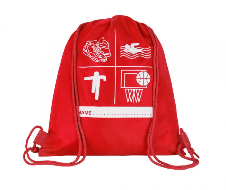 Red P.E Bag