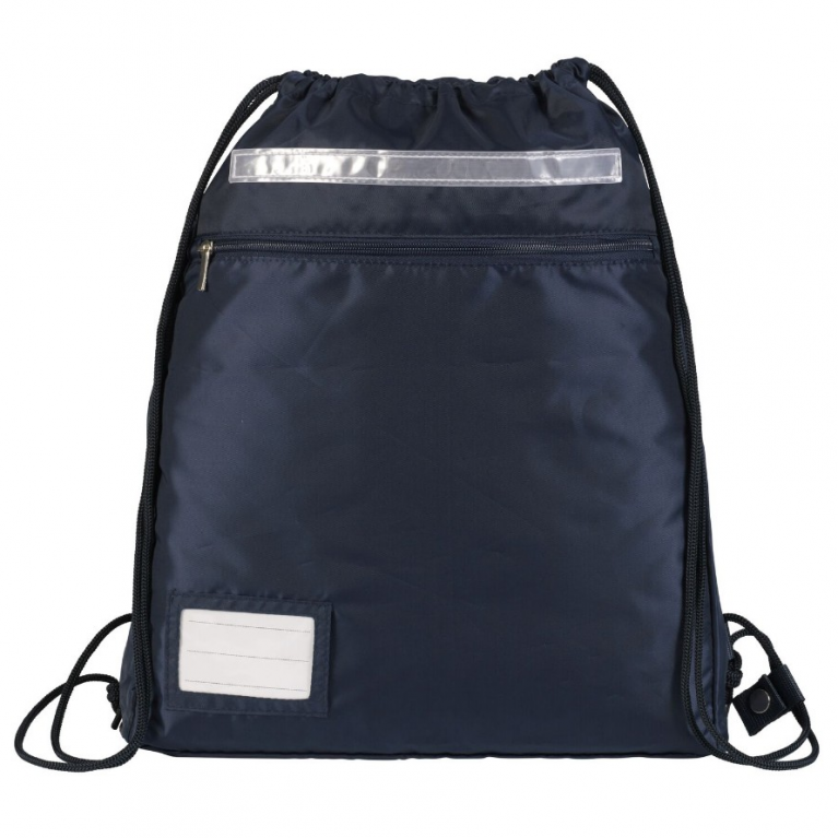 Plain Navy Kit Bag
