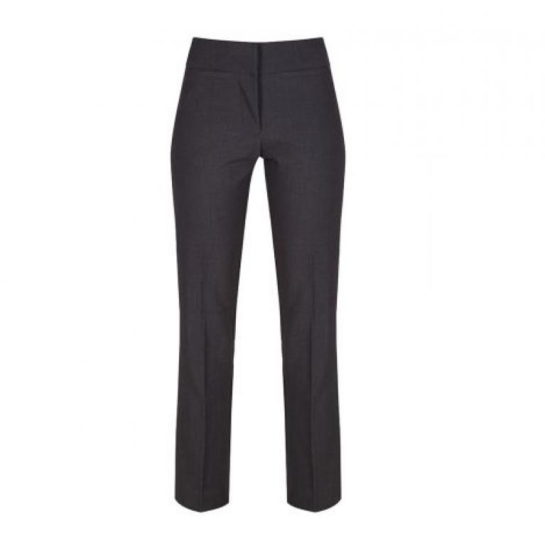 Trutex Senior Girls Twin Pocket Trousers in Harrow Grey