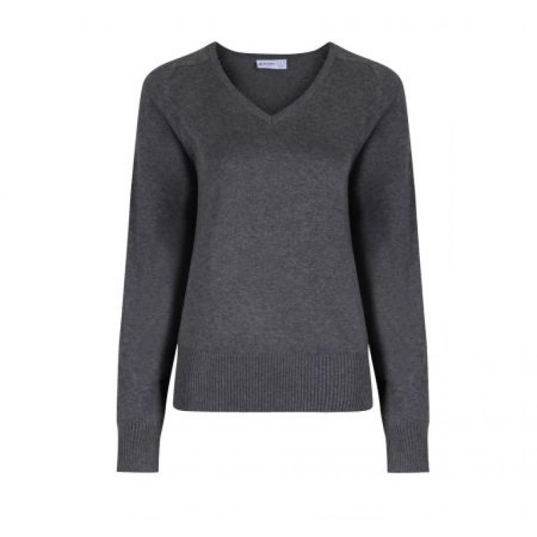 Marl Grey Trutex Jumper - Girls Fit