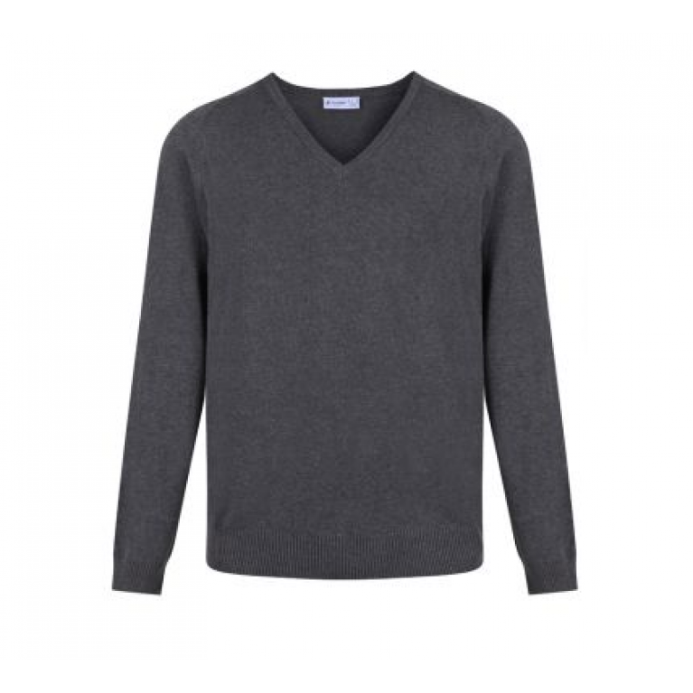 Trutex Marl Grey Jumper - Standard Fit