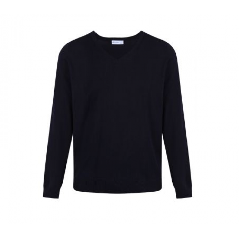 Trutex Navy Jumper - Standard Fit