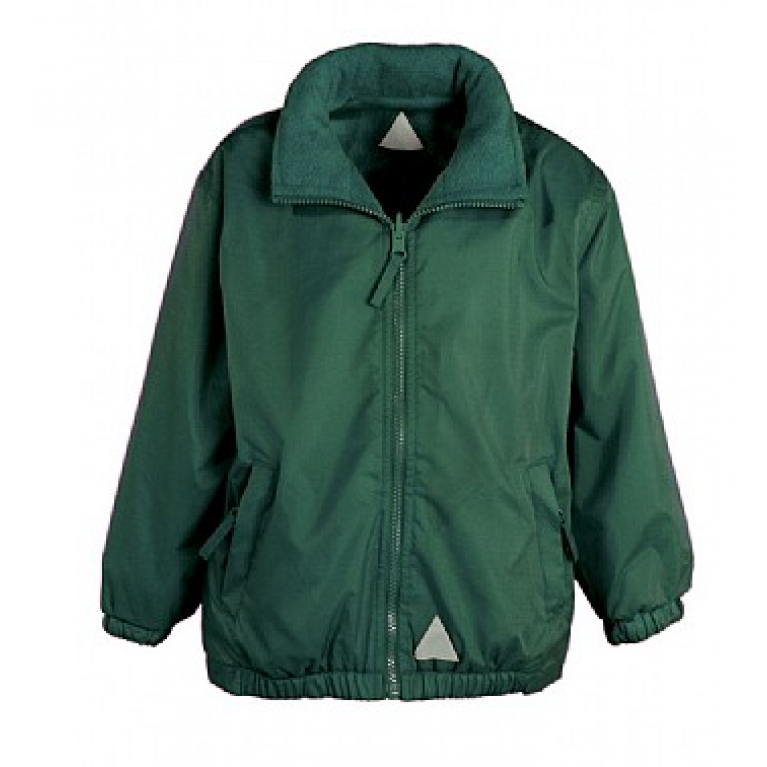 Green Reversible Showerproof Jacket