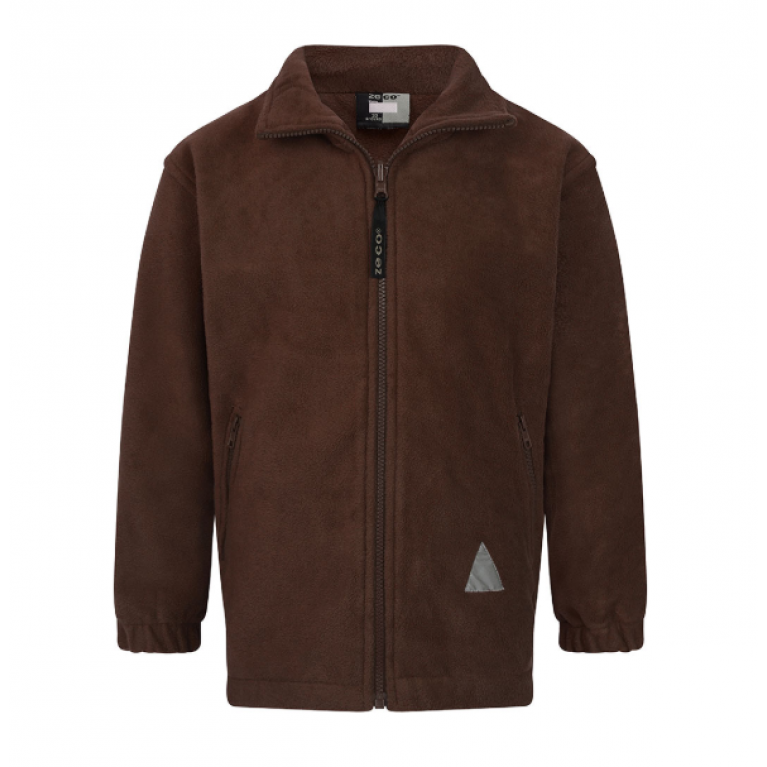 Plain Brown Fleece