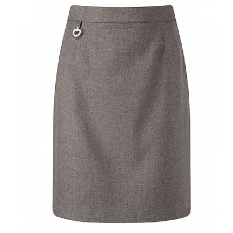 Girls Amber Skirt in Grey