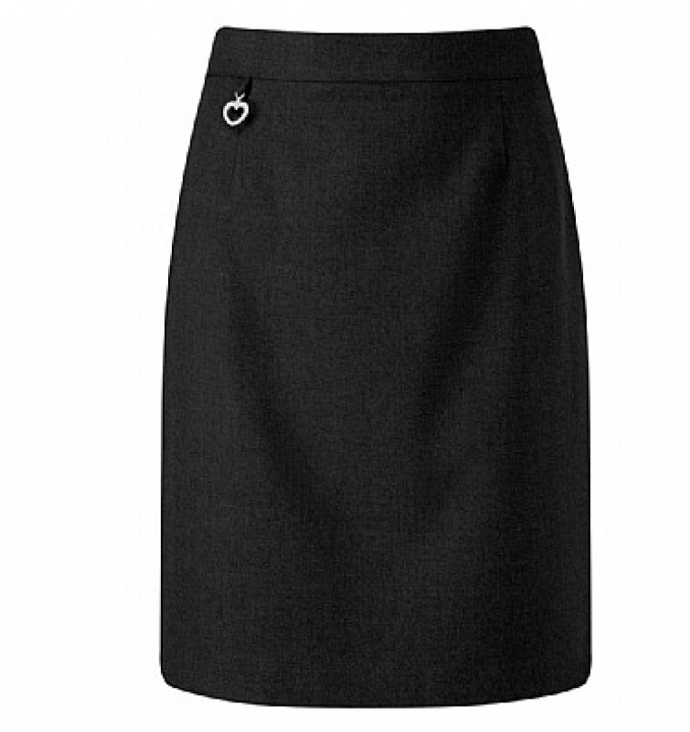 Girls Amber Skirt in Black