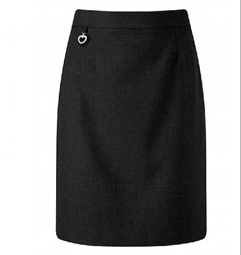 Girls Amber Skirt in Black
