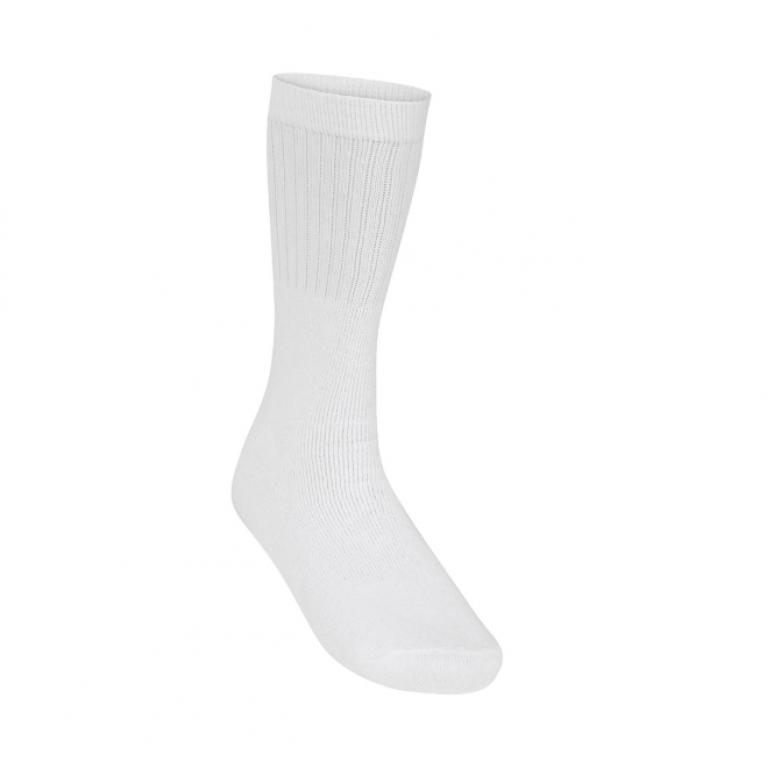 White 5 Pack Sports Socks