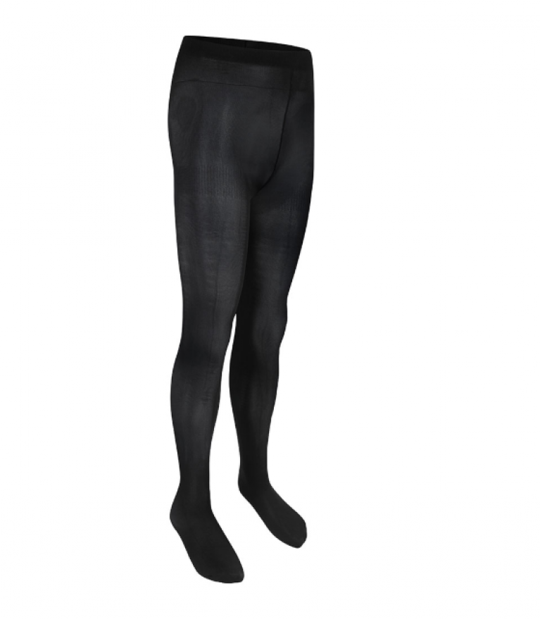 Opaque Pack of 2 Black Tights