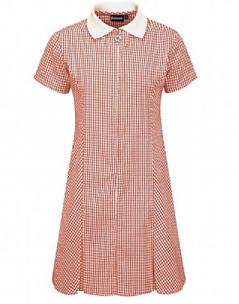 Red Avon Summer Dress