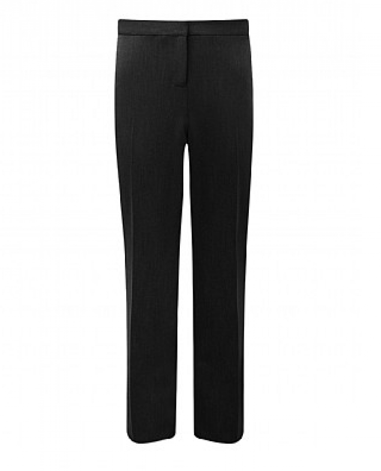 Girls Banner Trimley Trousers in Black