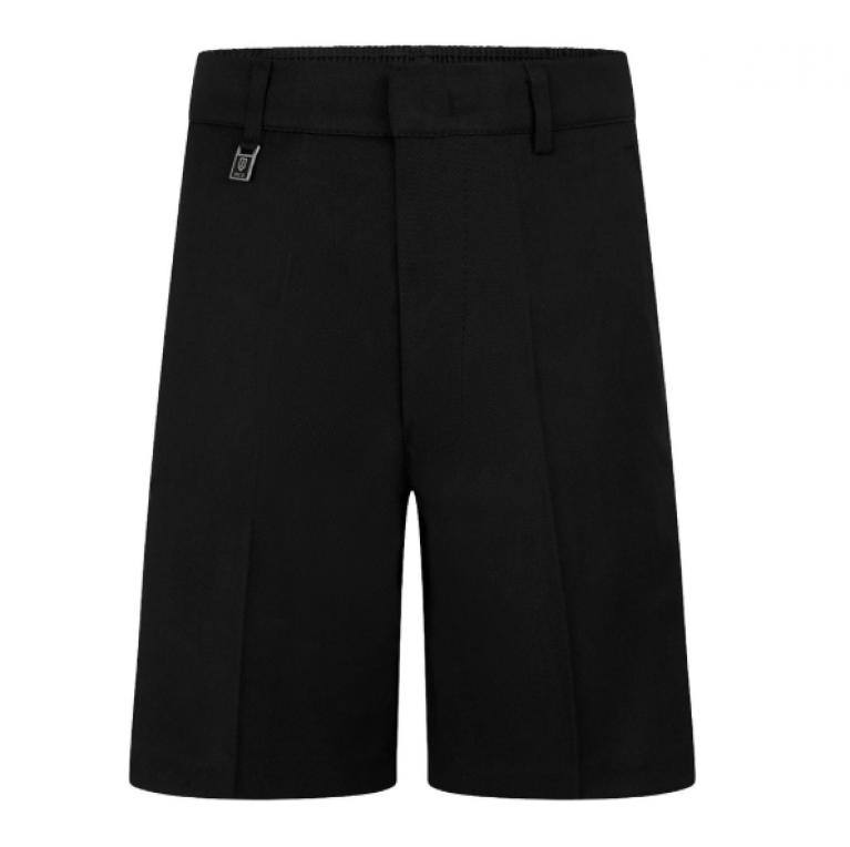 Boys Black Day Shorts