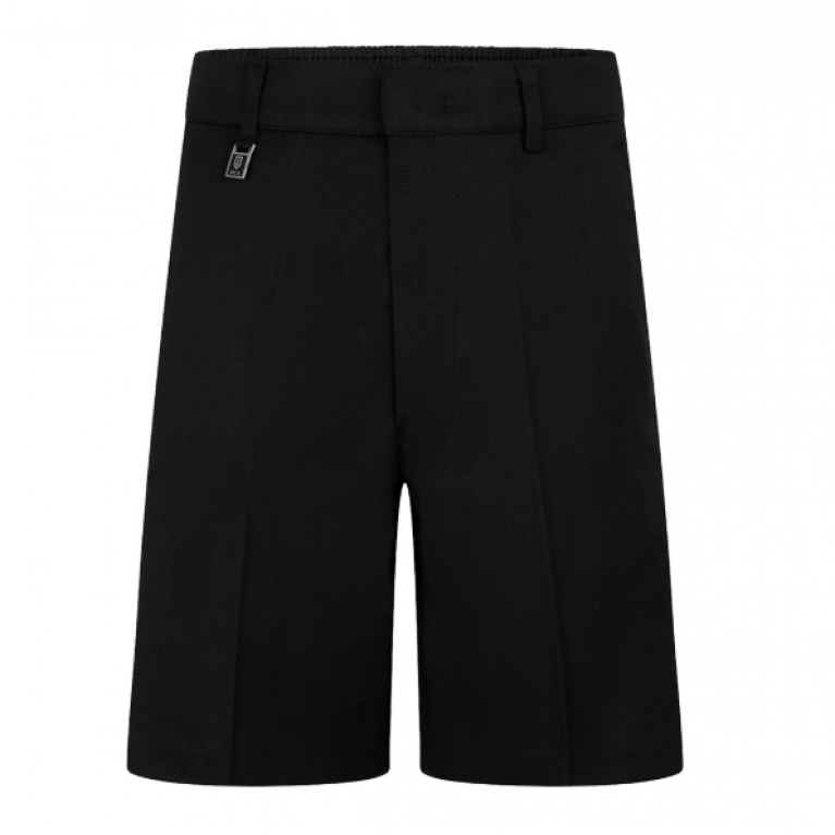 Boys Black Day Shorts