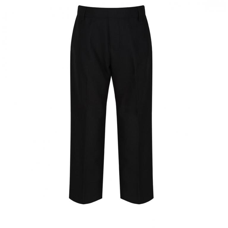Black Trutex Junior Boys Trousers - Sturdy Fit