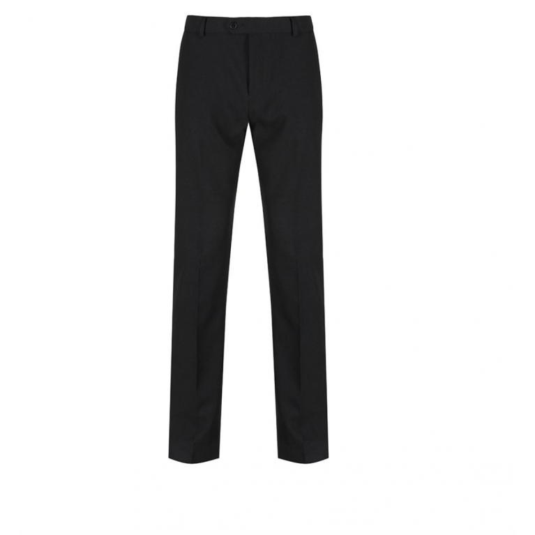 Black Trutex Boys Senior Slim Leg Trousers