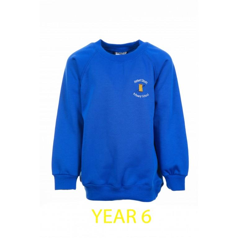 Year 6 Blue Sweatshirt