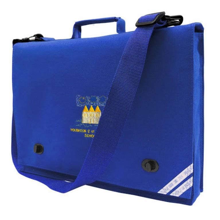 Unicol Blue Long Handle Bookbag