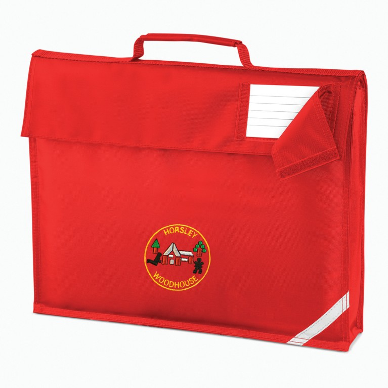 Red Classic Bookbag