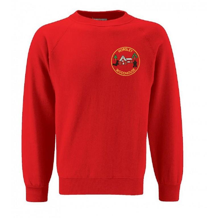 Red 70/30 Sweatshirt