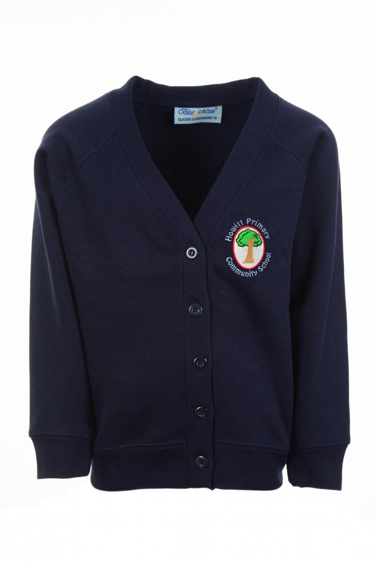Navy Classic Cardigan