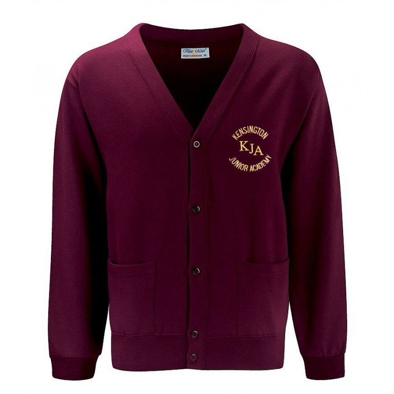 Burgundy Select Cardigan