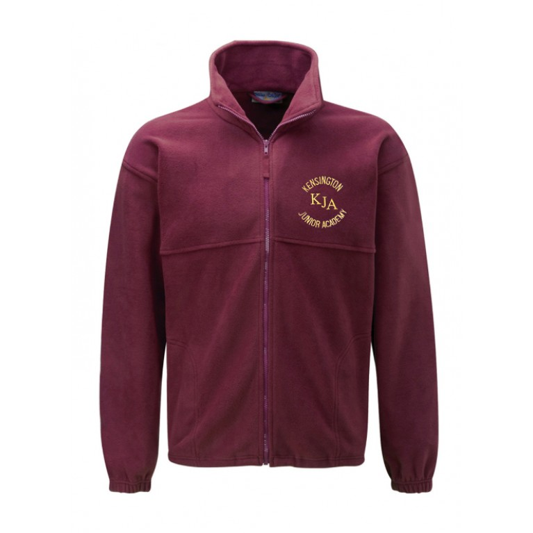 Burgundy Fleece
