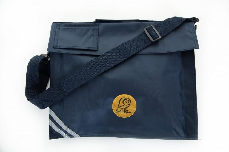 Navy Long Handle Bookbag