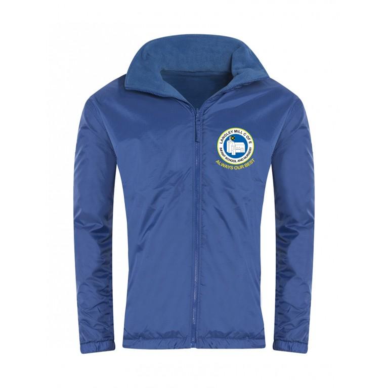 Blue Showerproof Jacket